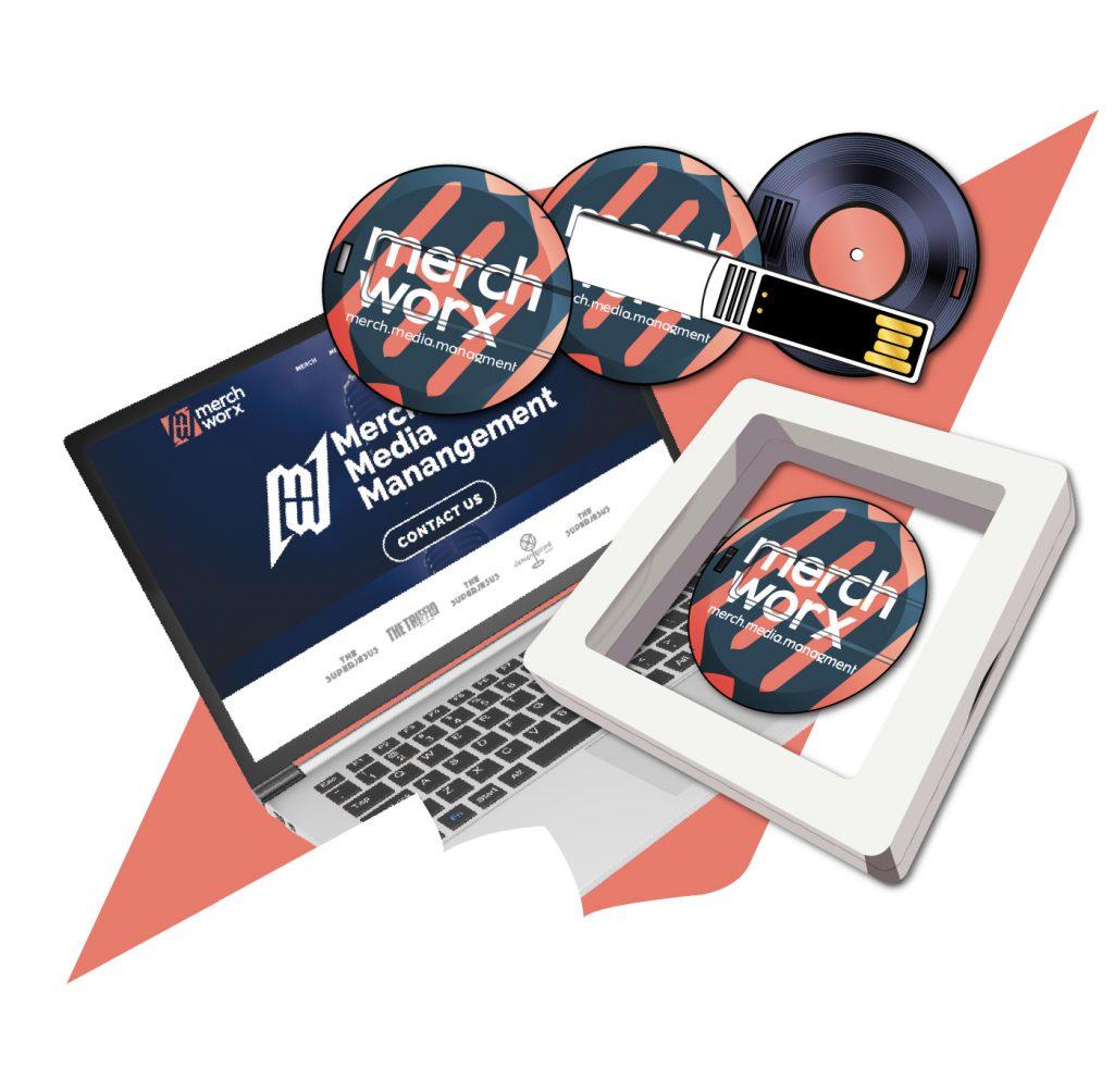 Example of USB Album product